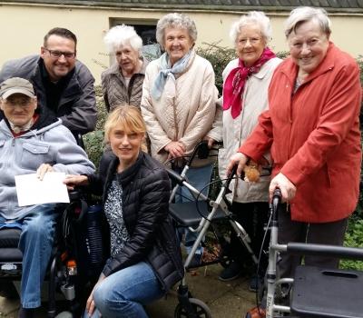 Besuch von der Allo Seniorenresidenz Velbert