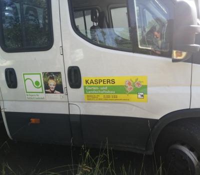 Kaspers Garten- und Landschaftsbau im Einsatz für das Tierheim….